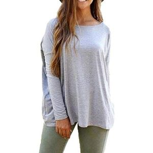Tops - 🌹 NEW - Piko Style Loose Long Sleeve Top